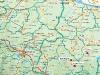 Карта на рекат Скът. Мало и Голямо пещене, Врачанско