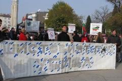 20.11.2011 - Протест срещу проучванията и добива на шистовия газ - ВАРНА